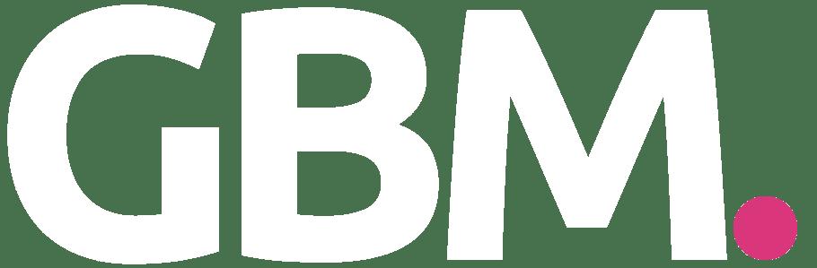 GBM White Logo